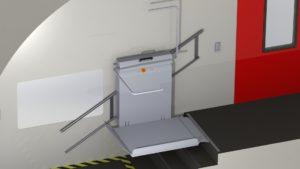 Treppenlift Schienenfahrzeug 3
