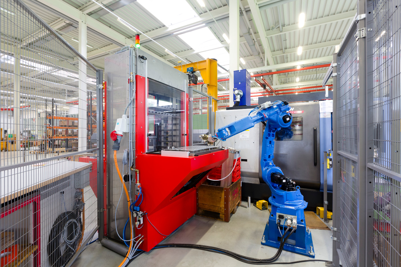 Workpiece palletizer - simplify engineering AG